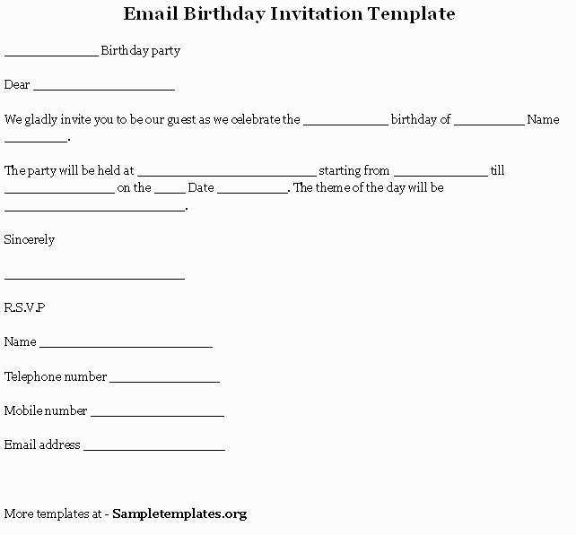 44 Customize Our Free Birthday Invitation Templates Corel With Stunning Design with Birthday Invitation Templates Corel