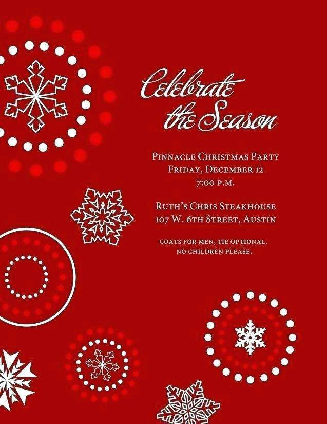 44 Customize Our Free Elegant Christmas Party Invitation Template Free Download for Ms Word by Elegant Christmas Party Invitation Template Free Download