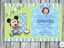 44 Free Printable Blank 1St Birthday Invitation Template Formating for Blank 1St Birthday Invitation Template
