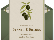 44 Online Dinner Party Invitation Template for Ms Word with Dinner Party Invitation Template