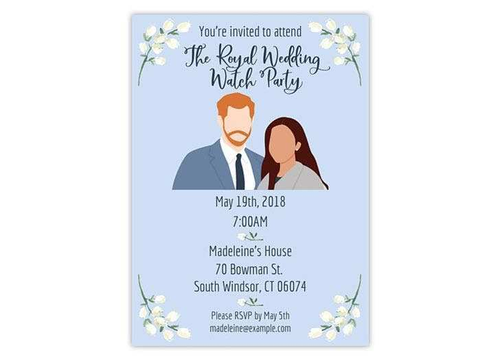 44 Printable Royal Wedding Party Invitation Template in Photoshop with Royal Wedding Party Invitation Template