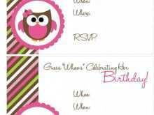 44 Visiting Owl Birthday Invitation Template Formating by Owl Birthday Invitation Template