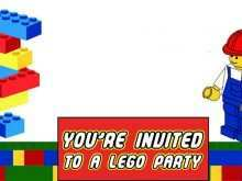 45 Customize Lego Party Invitation Template Free PSD File by Lego Party Invitation Template Free