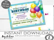 45 Customize Relief Society Birthday Invitation Template Download by Relief Society Birthday Invitation Template