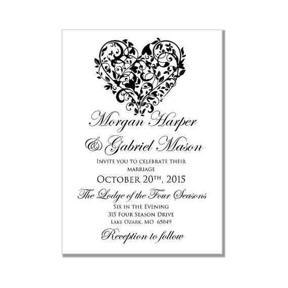 45 Customize Wedding Invitation Template In Word Maker for Wedding Invitation Template In Word