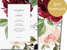 45 Format Wedding Invitation Template Burgundy Formating by Wedding Invitation Template Burgundy