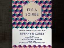 Party Invitation Template Indesign
