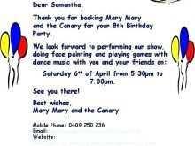 45 Printable Birthday Invitation Letter Template Layouts for Birthday Invitation Letter Template