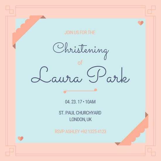 45 Printable Christening Invitation Blank Template For Baby Boy Photo for Christening Invitation Blank Template For Baby Boy