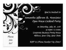 45 Report Birthday Party Invitation Template Black And White Formating for Birthday Party Invitation Template Black And White