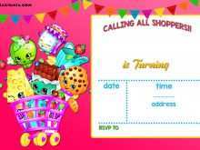 45 Standard Shopkins Birthday Invitation Template Free Download for Shopkins Birthday Invitation Template Free