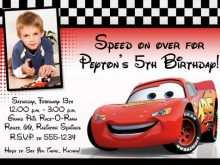 45 Visiting Cars Birthday Invitation Template Free Download Now with Cars Birthday Invitation Template Free Download