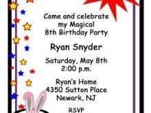46 Best Birthday Invitation Template Child for Ms Word with Birthday Invitation Template Child