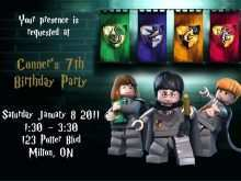 46 Best Ninjago Party Invitation Template in Photoshop with Ninjago Party Invitation Template