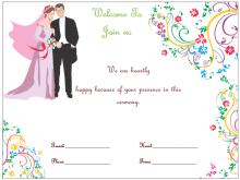 46 Creative A5 Wedding Invitation Template Layouts with A5 Wedding Invitation Template