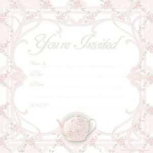 46 Creative Afternoon Tea Invitation Template Blank Now by Afternoon Tea Invitation Template Blank