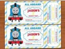 46 Printable Birthday Invitation Template Train Free Maker by Birthday Invitation Template Train Free
