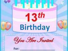 46 Report Birthday Party Invitation Template Free Online Maker for Birthday Party Invitation Template Free Online