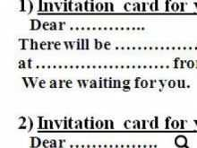 47 Adding How To Write An Invitation Card Example Formating by How To Write An Invitation Card Example