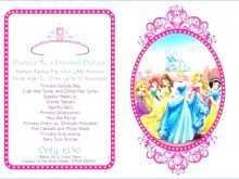 47 Best Birthday Invitation Template Disney PSD File with Birthday Invitation Template Disney