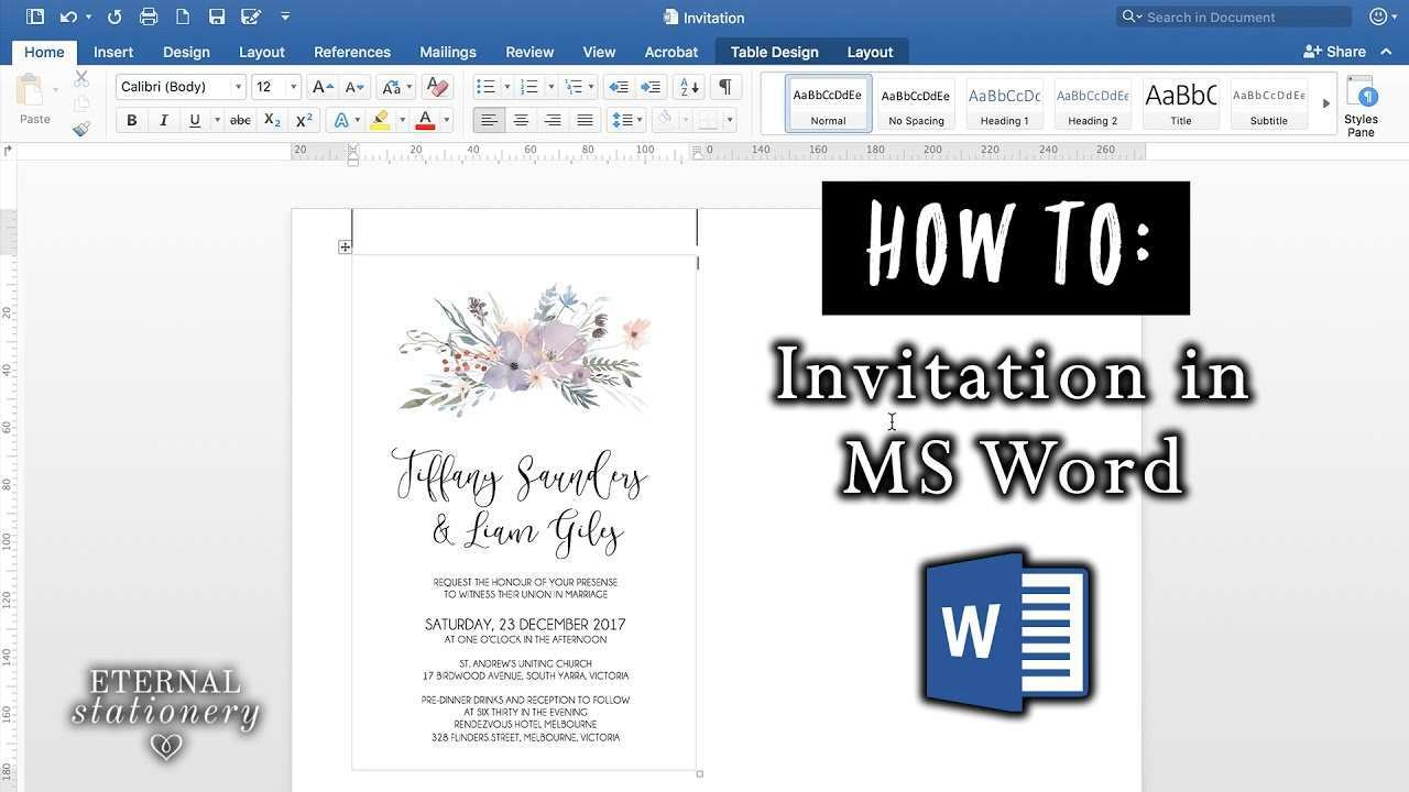 Blank Invitation Template Youtube - Cards Design Templates