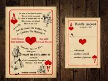 47 Creative Alice In Wonderland Wedding Invitation Template Now by Alice In Wonderland Wedding Invitation Template