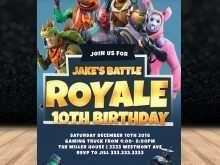 47 Free Fortnite Birthday Invitation Template With Stunning Design by Fortnite Birthday Invitation Template