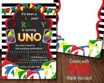 47 How To Create Uno Birthday Invitation Template Free for Ms Word for Uno Birthday Invitation Template Free