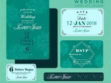 Free Wedding Invitation Template Vector