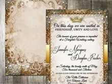 47 Standard Beauty And The Beast Wedding Invitation Template Free Maker for Beauty And The Beast Wedding Invitation Template Free