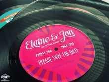 48 Adding Vinyl Record Wedding Invitation Template Maker with Vinyl Record Wedding Invitation Template