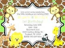 48 Customize Our Free Zoo Party Invitation Template For Free with Zoo Party Invitation Template