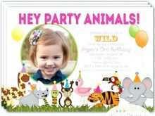 48 Customize Zoo Birthday Party Invitation Template Layouts for Zoo Birthday Party Invitation Template