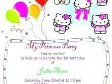 48 Format Kitty Party Invitation Template Formating with Kitty Party Invitation Template