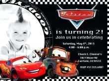 49 Creating Cars Birthday Invitation Template Free Formating with Cars Birthday Invitation Template Free