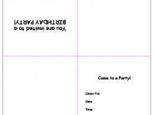 49 Customize Blank Quarter Fold Invitation Template Now with Blank Quarter Fold Invitation Template