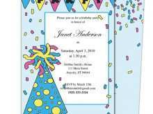 49 Free Childrens Party Invitation Template For Free by Childrens Party Invitation Template
