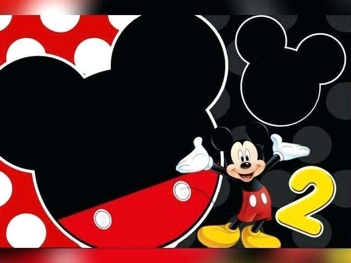49 Free Mickey Mouse Blank Invitation Template Maker with Mickey Mouse Blank Invitation Template