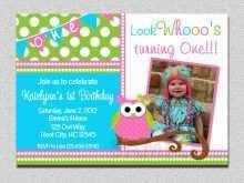 49 How To Create Owl Birthday Invitation Template for Ms Word for Owl Birthday Invitation Template