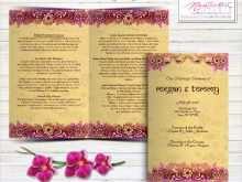 49 Printable Indian Wedding Invitation Template in Word for Indian Wedding Invitation Template