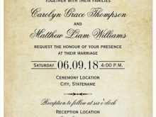 49 Printable Wedding Invitation Template To Download for Ms Word by Wedding Invitation Template To Download
