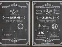49 The Best Blank Chalkboard Invitation Template Templates with Blank Chalkboard Invitation Template