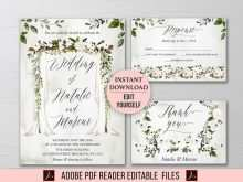 49 The Best Boho Wedding Invitation Template Formating by Boho Wedding Invitation Template