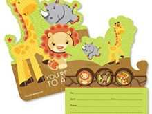 50 Blank Jungle Party Invitation Template Maker for Jungle Party Invitation Template