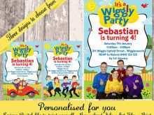50 Create Wiggles Birthday Invitation Template Maker with Wiggles Birthday Invitation Template