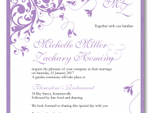 50 Creating Wedding Invitation Templates Violet Photo with Wedding Invitation Templates Violet