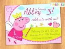50 Customize Our Free Peppa Pig Birthday Invitation Template PSD File for Peppa Pig Birthday Invitation Template