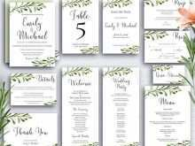 50 Format Botanical Wedding Invitation Template For Free by Botanical Wedding Invitation Template