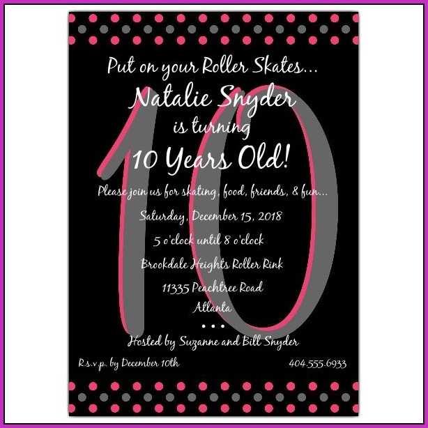 50 free birthday invitation templates
