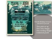 50 How To Create Wedding Invitation Template Outdoor in Word by Wedding Invitation Template Outdoor